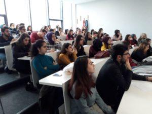 Σεμινάριο σε νέους εργοθεραπευτές στην Κωνσταντινούπολη