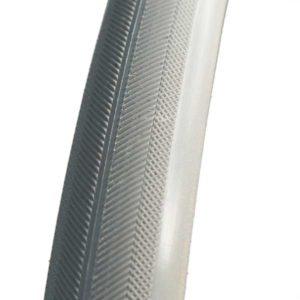 24×1″ (25×540) συμπαγής ελαστικό γκρι ψαροκόκαλο