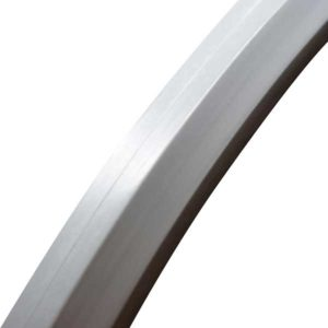 24×1″ (25×540) συμπαγής ελαστικό με ίσιο πέλμα