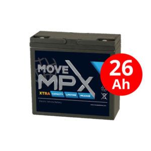 Μπαταρία AGM MPX 20-12 (26Ah/12V)