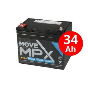 Μπαταρία AGM MPX 34-12 (36Ah/12V)