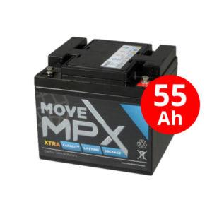 Μπαταρία AGM MPX 50-12 (55Ah/12V)